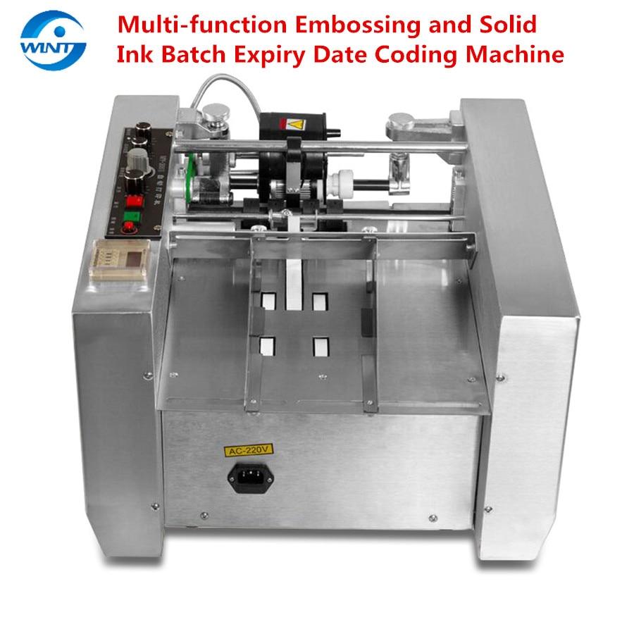 MY-300 ماكينة تدوين التاريخ التلقائي آلة طباعة متعددة الوظائف النقش والحبر الصلب دفعة انتهاء الصلاحية اعجاب MFG EXP LOT