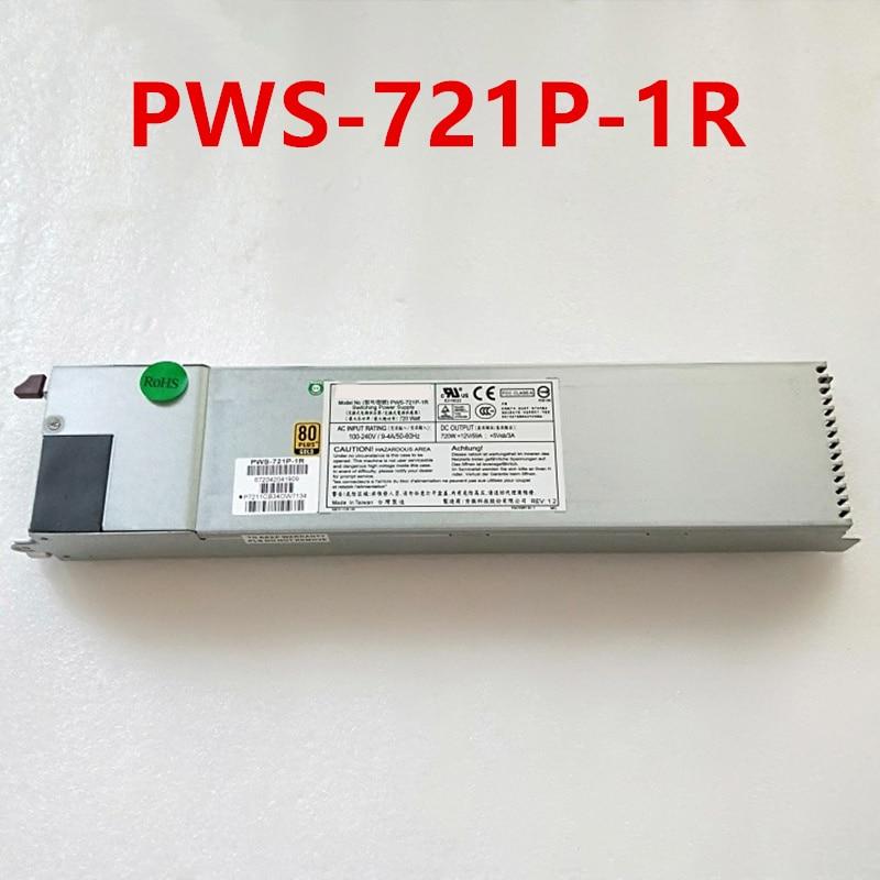 جديد الأصلي PSU ل Supermicro 720 واط تحويل التيار الكهربائي PWS-721P-1R