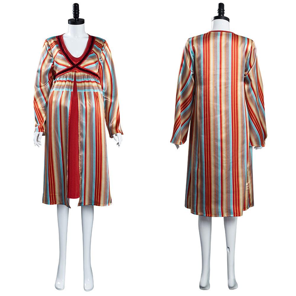 WandaVision Scarlet Witch Wanda Maximoff Cosplay Costume Women Girls Pregnancy Pajamas Sleepwear