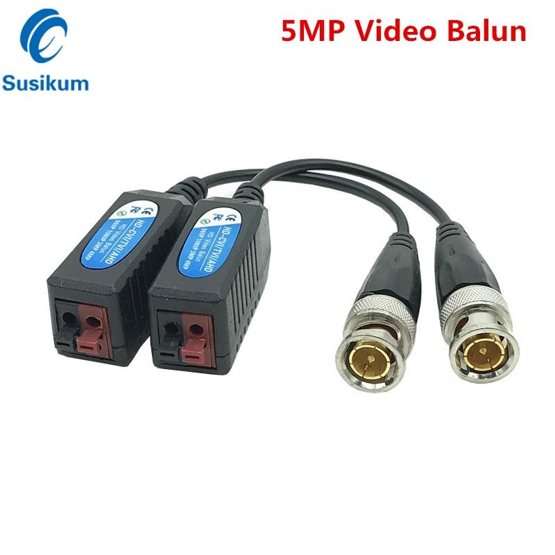 5 пар, витые трансиверы для видеонаблюдения, 5 МП, 4 МП, 3 Мп, 960H, 1080P, 720P