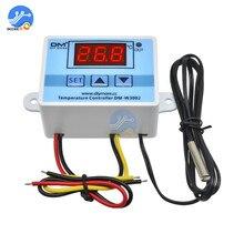 XH-W3002 AC 110 V-220 V Digital LED Temperatur Controller 10A Thermostat Control Schalter Mit Sonde Sensor W3002