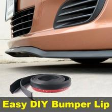 Bumper Lip Deflector Lips For Alfa Romeo 164 / 168 AR Front Spoiler Skirt For TOPGEAR Friends Car Tuning / Body Kit / Strip