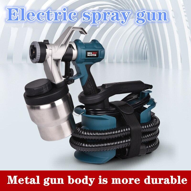 مسدس رش كهربائي عالي الضغط للسيارات ، آلة رش أوتوماتيكية ومنزلية ، 220 فولت ، 800 واط