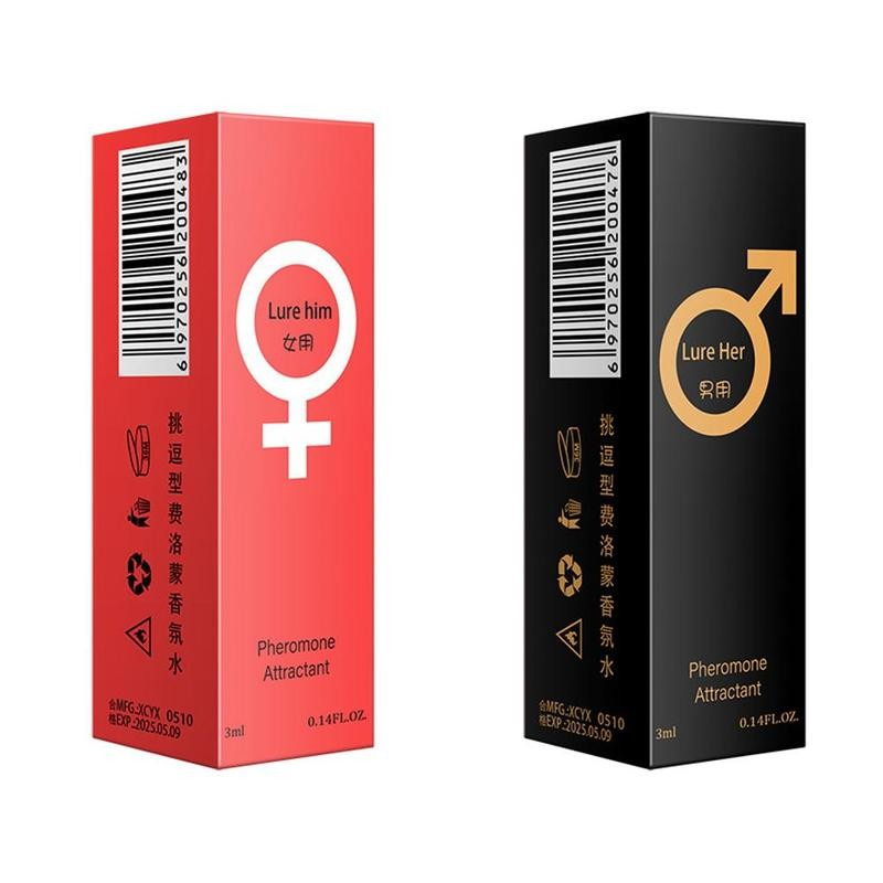 Pheromones Perfume Man Women 3ml Elegant Romantic Lasting Fresh Fragrance Women's Temptation Charmin