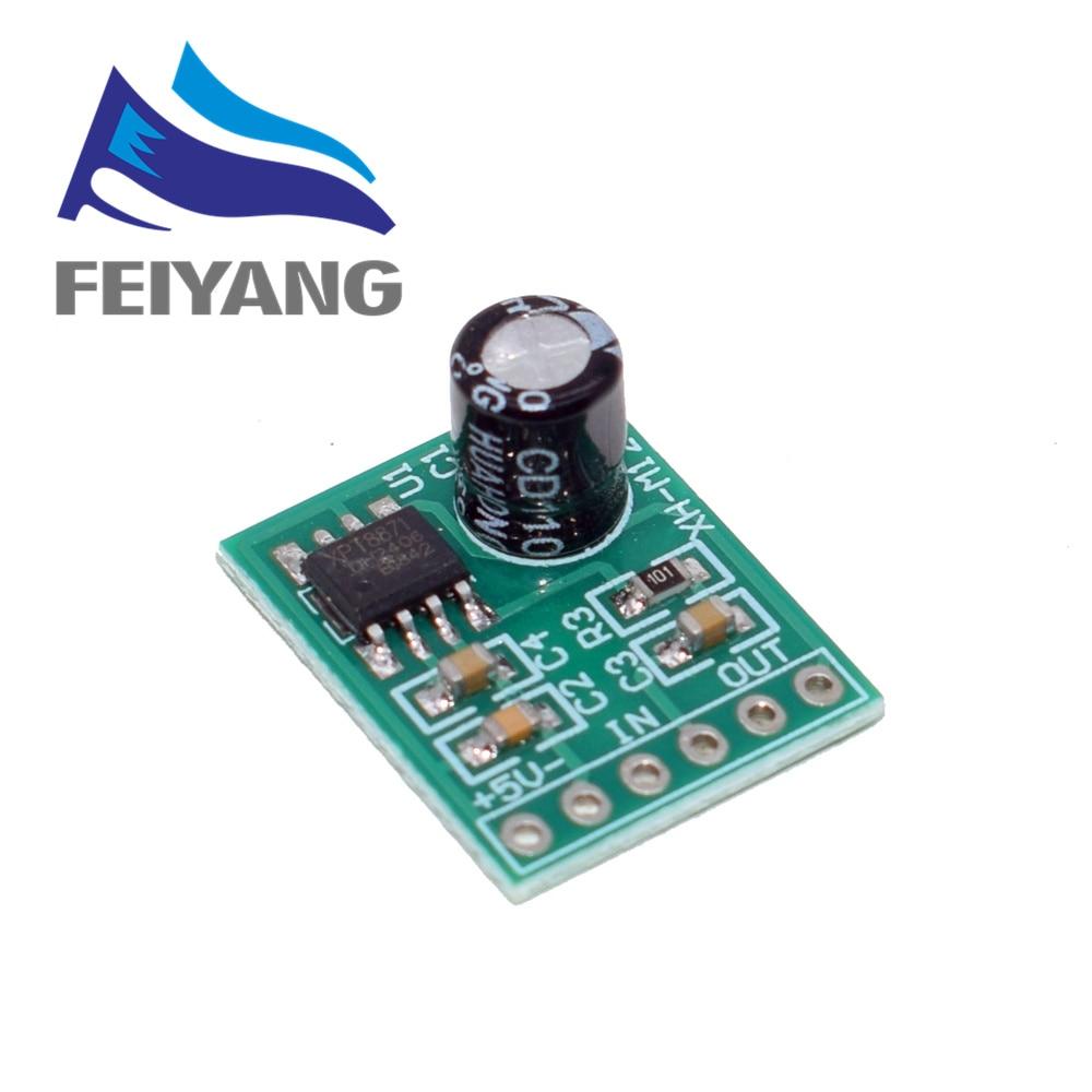 Mini XH-M125 XPT8871 Mono Stereo Lithium Battery Power Amplifier Module Board Audio Output Input 6W Sing Machine Module 3V 5V 5W