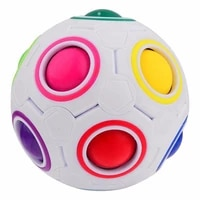 football puzzle kids toys for children stress reliever toy creative magic cube ball antistress rainbow