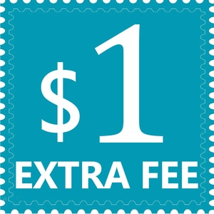 1$ USD The Additional Extra Fee For Your Order or for Add Money Buy Other Products