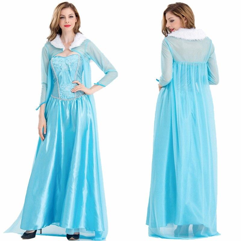 Disfraz Halloween adultos Frozen Aisha princesa vestido Cosplay mascarada vestido anime halloween Disfraces para mujeres