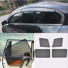 Car Full Side Windows Magnetic Sun Shade UV Protection Ray Blocking Mesh Visor For Buick LaCrosse 2009-2015