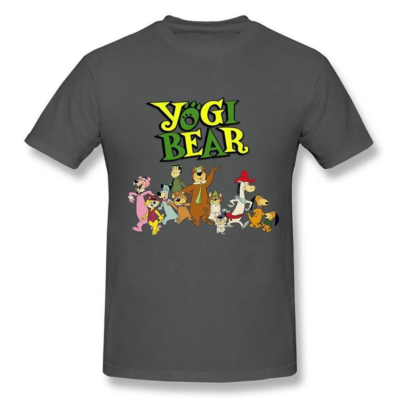 TSDFC Men's Blue Generic Cotton Yogi Bear Logo T-Shirt unisex men women t shirt