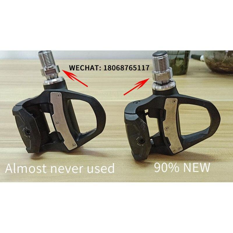 Garmin Vector 3 Original bicicleta inteligente bloqueo pedal tipo poder sensorbilateral medidor de potencia ciclismo piezas usadas por ordenador 90%/99% nuevo