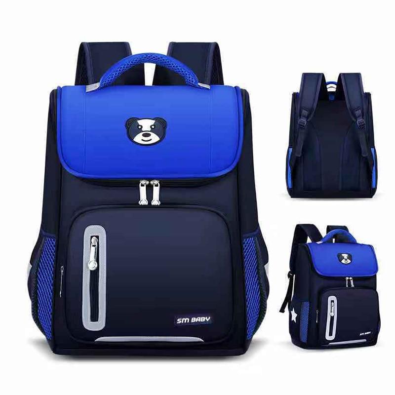 Детские школьные ранцы для мальчиков и девочек, школьный ортопедический рюкзак для детей, школьная сумка, Детский водонепроницаемый рюкзак...