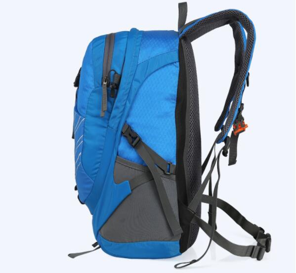 Mountaineering Backpack Bag Go Hiking Material POLYESTER FABRIC 3pc/lot