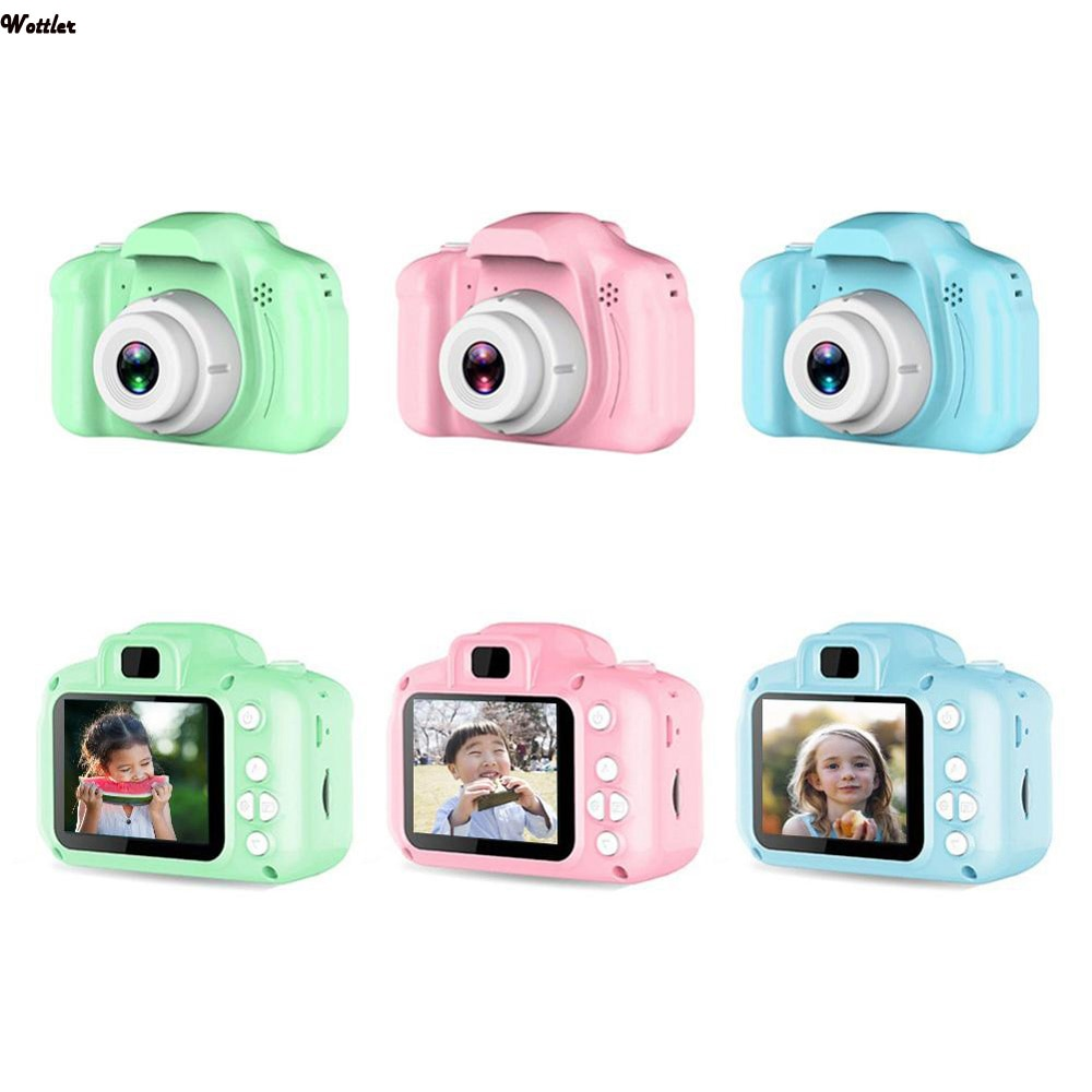 Digital Camera for Kids 2.0 Inch Gift Cartoon Cute Camera Outdoor Photography Kids Game Study Toy Ca
