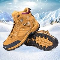 BONA Men Hiking Shoes Boots Warm Trekking Footwear Outdoor Jogging Trekking Sport Shoes Multi-Fundtion Climbing Sneakers For Men