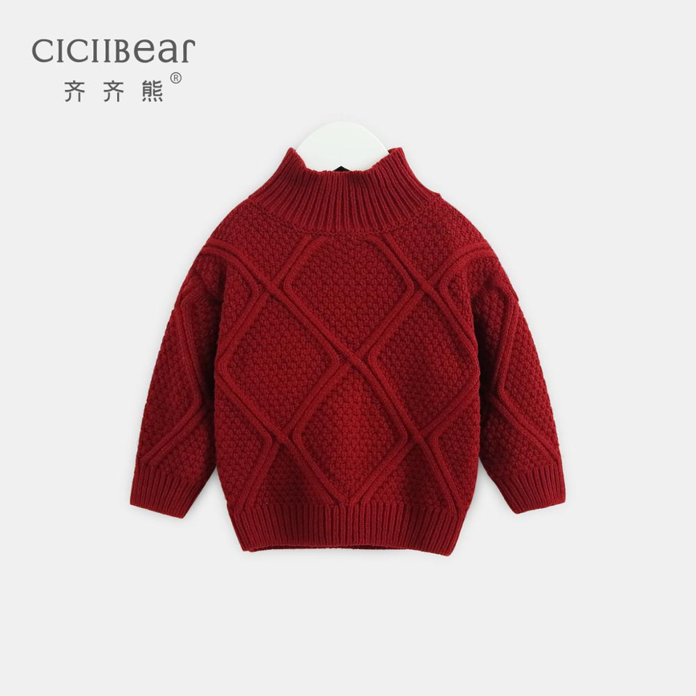 ciciibear  2020 boys sweater baby new children's clothing long sleeve clothes