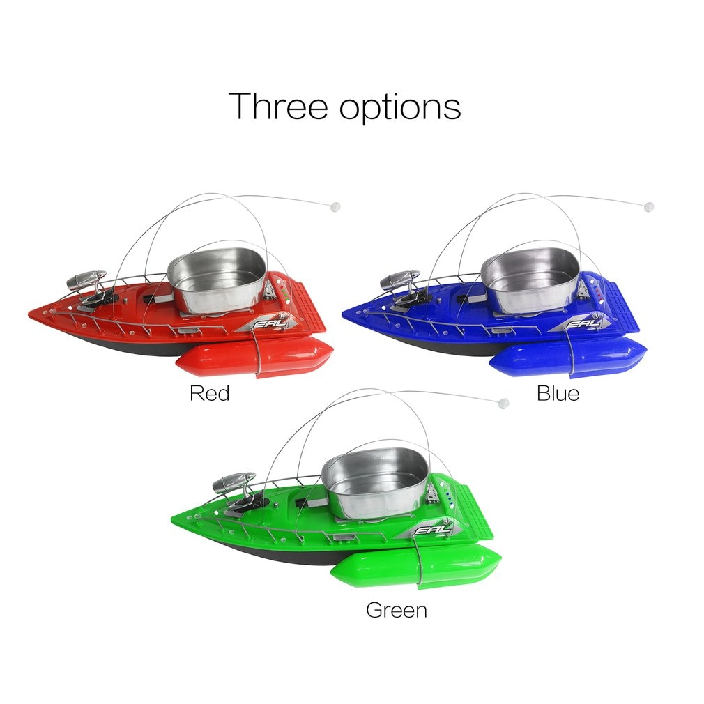 EAL T10 RC Boat Intelligent Wireless Electric Fishing Bait Remote Control Boat Fish Ship Searchlight Toy Gifts For Kids enlarge