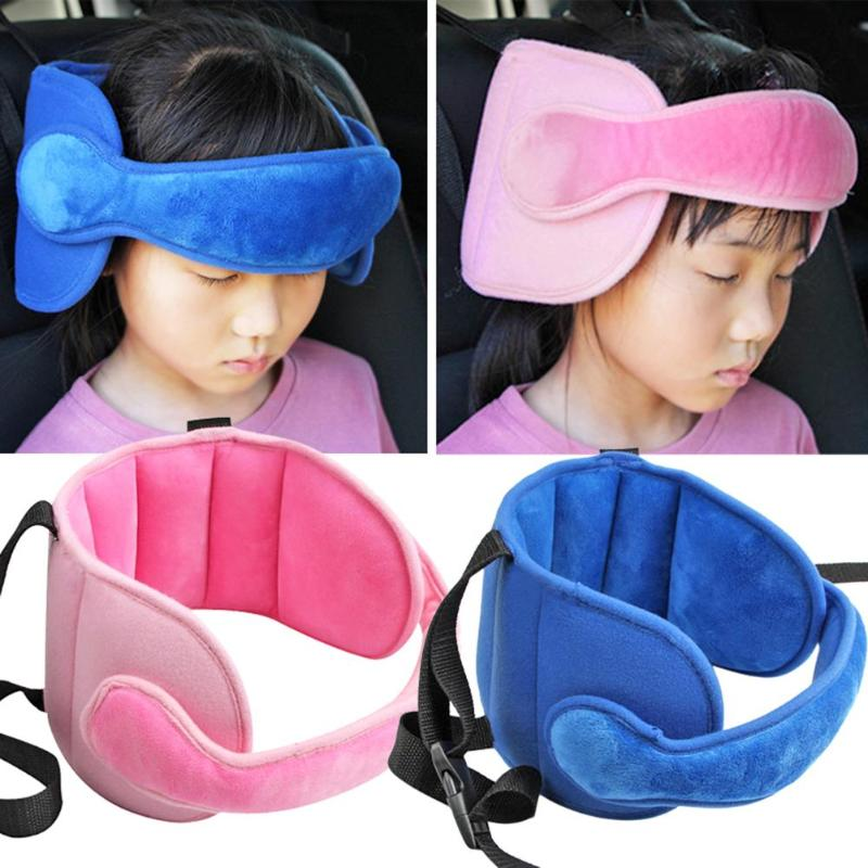 Baby Head Fixed Sleeping Pillow Adjustable Kids Seat Head Supports Neck Safety Protection Pad Headrest Children Travel Pillow