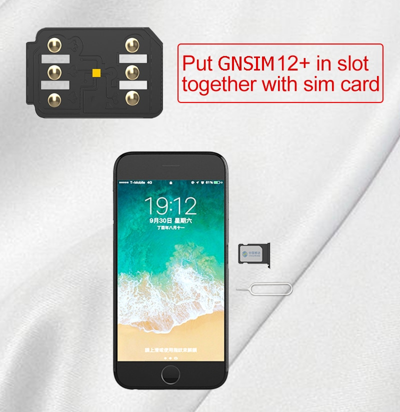 12 pcs/Lot GN SIM Unlock For IPhone SIM For IOS 14 IOS  For iPhone11 PRO MAX 11 PRO11 X XS enlarge