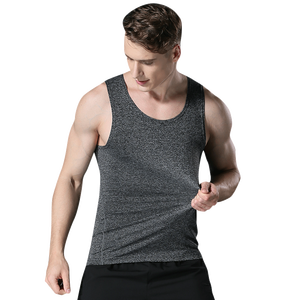 Fitness Sports Tank Tops Summer Fitness Clothes Running Training Clothes Elastic Breathable Quick-drying Sleeveless T-shirt