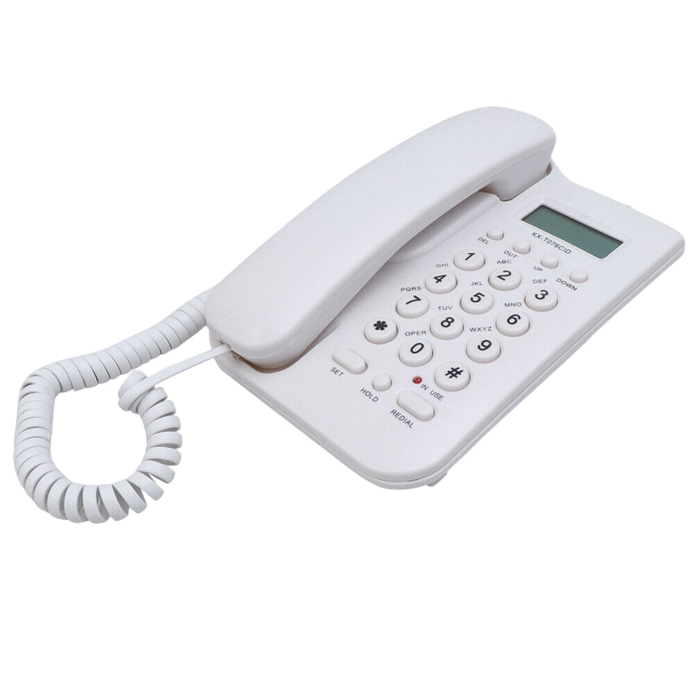 Portable Wall Mount Wireless Call Cordless Home Office Digital Intercom Landline Telephone English Hotel For Elderly ID Display