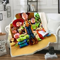 cartoon blanket toy story 3d printed blanket couch quilt cover travel bedding plush throw fleece blanket bedspread