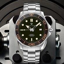 Новинка 2020, мужские механические часы PAGANI DESIGN 007 commander, брендовые Роскошные автоматические часы, мужские водонепроницаемые наручные часы, Яп...