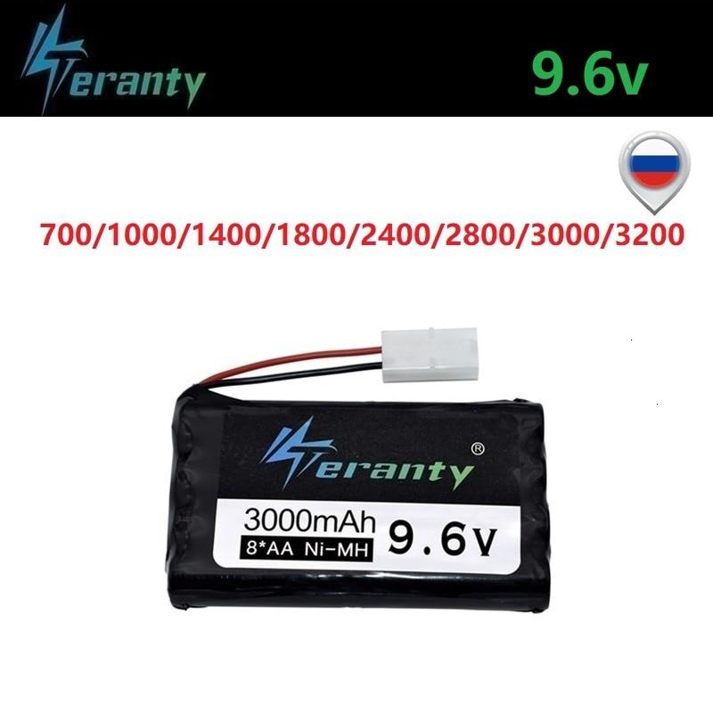 9,6 V 700/1000/1400/1800/2400mAh 2800mah 3000mah 3200mAh Rc coches de juguete eléctrico iluminación de seguridad faclities AA Ni-Cd/Ni-MH batería