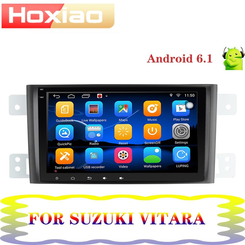 Para Suzuki Grand Vitara Escudo JT 2007-2013, pantalla de 8 pulgadas 1024*600, radio gps Android, estéreo, reproductor dvd coche 2 din BT
