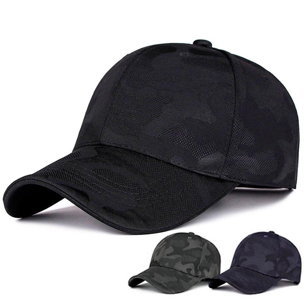 Gorras Unisex de algodón camuflaje gorra de béisbol hombres mujeres verano Snapback sombreros ajustable Hip-Hop gorra de sol gorras mujer hueso