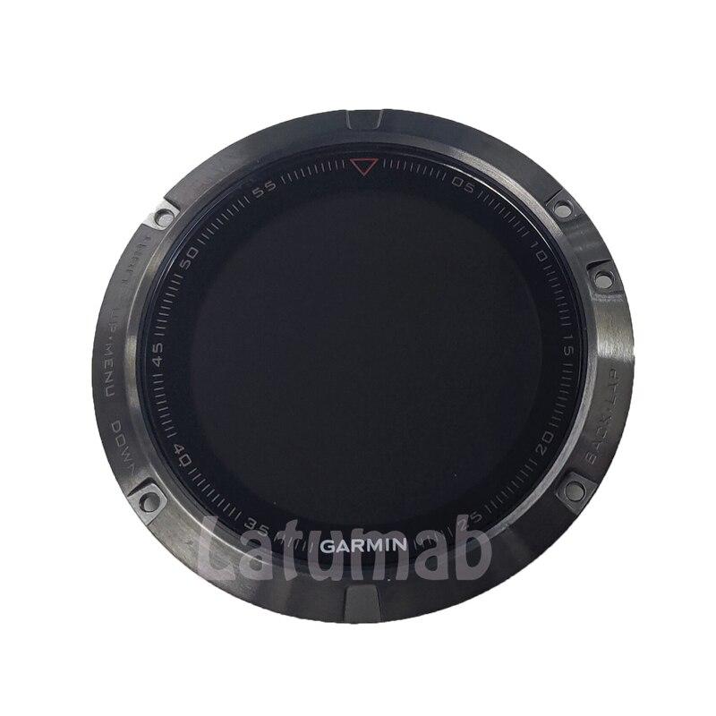 Latumab-شاشة عرض LCD أصلية للساعات الرياضية Garmin Fenix 5 ، قطع غيار للساعة الذكية
