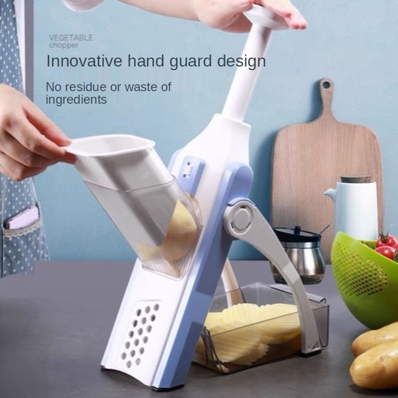 جديد قطع الخضار قطعة أثرية المطبخ متعددة الوظائف التقطيع التقطيع قطاعة الخضراوات المنزلية ، تقطيع البطاطس