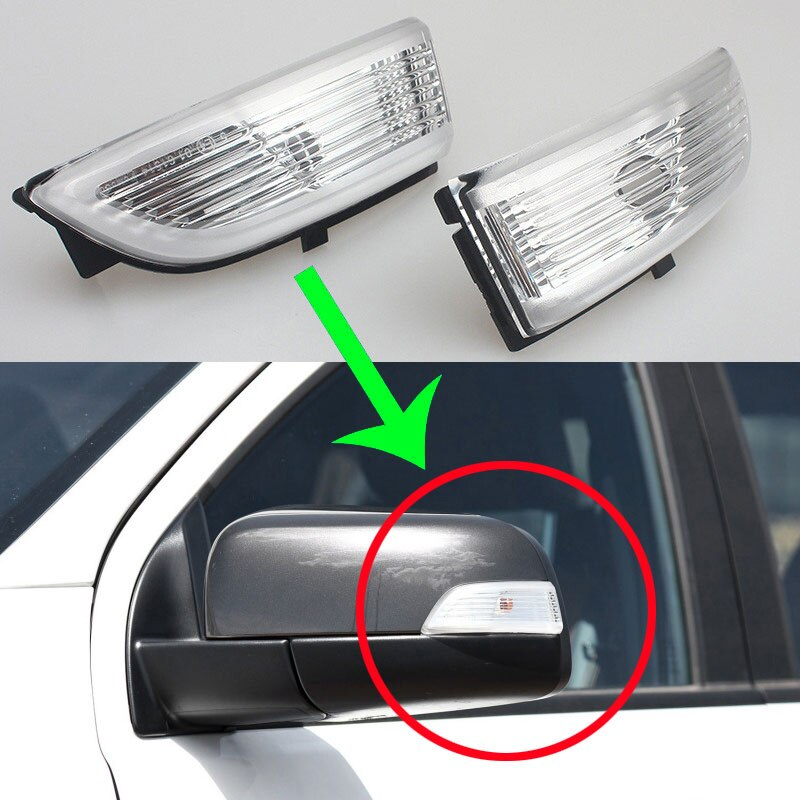 Car mirror signal led side mirror turn signal light For Ford Everest Ranger 2012-2018 blinker rear view mirror indicators