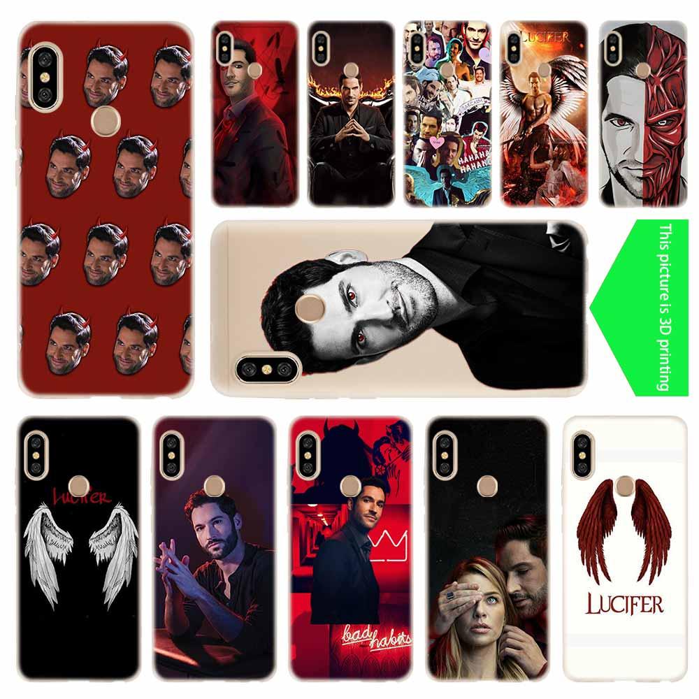 TV Series Lucifer Baseus Clear Case For Xiaomi Redmi 8A 7A 4X 4a 5 Plus 7a 5a S2 6a 6 Note 8 7 5 K20 Pro Fundas Soft TPU Back