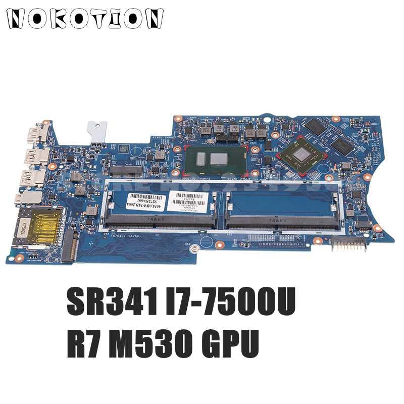 NOKOTION 924080-601 924080-501 924080-001 لإتش بي X360 15-BR 15T-BR اللوحة 16883-1 448.0C108.0011 R7 M530 SR341 I7-7500U وحدة المعالجة المركزية
