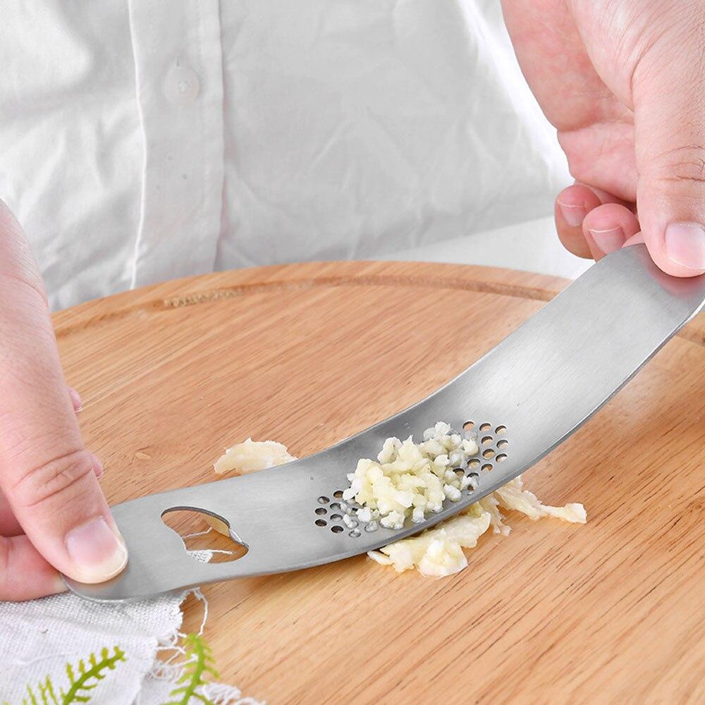 ¿1 ud? De acero inoxidable de prensas de ajo... picadora Manual De...