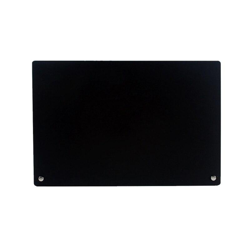 Nova placa de exibição da arte do prego workbook acrílico destacável cartão de cor