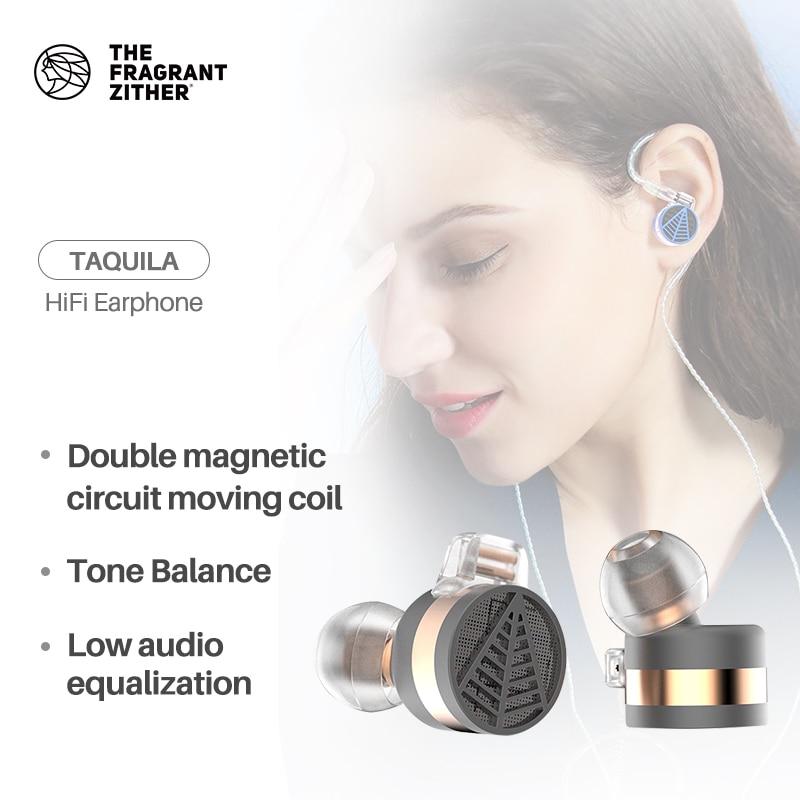TFZ/ TEQUILA1 In ear Monitor HIFI Earphones, Metal material AudiophileSuper Bass Earphone Headset For phone enlarge