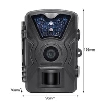 infrared hunting trail camera scout wild camera 12mp night vision for animal camera traps 940nm forest camera photo chasse ct008