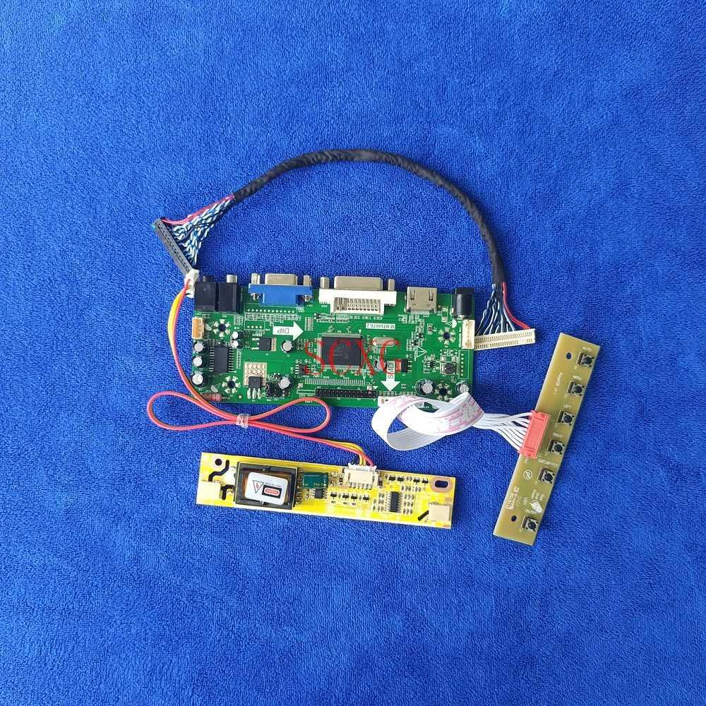 30-Pin LVDS Kit 1280*1024 For M170EG01/M170ETN01.0/QD17EL07 M.NT68676 لوحة تحكم HDMI-متوافق DVI VGA LCD matrix 2CCFL