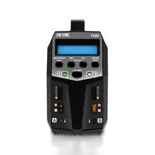 SKYRC T200 Dual AC/DC Balance Charger 12A 100W XT60 Plug RC Upgrade Parts for LiPo Li-ion LiFe NiCd NiMH PB LiHV Battery