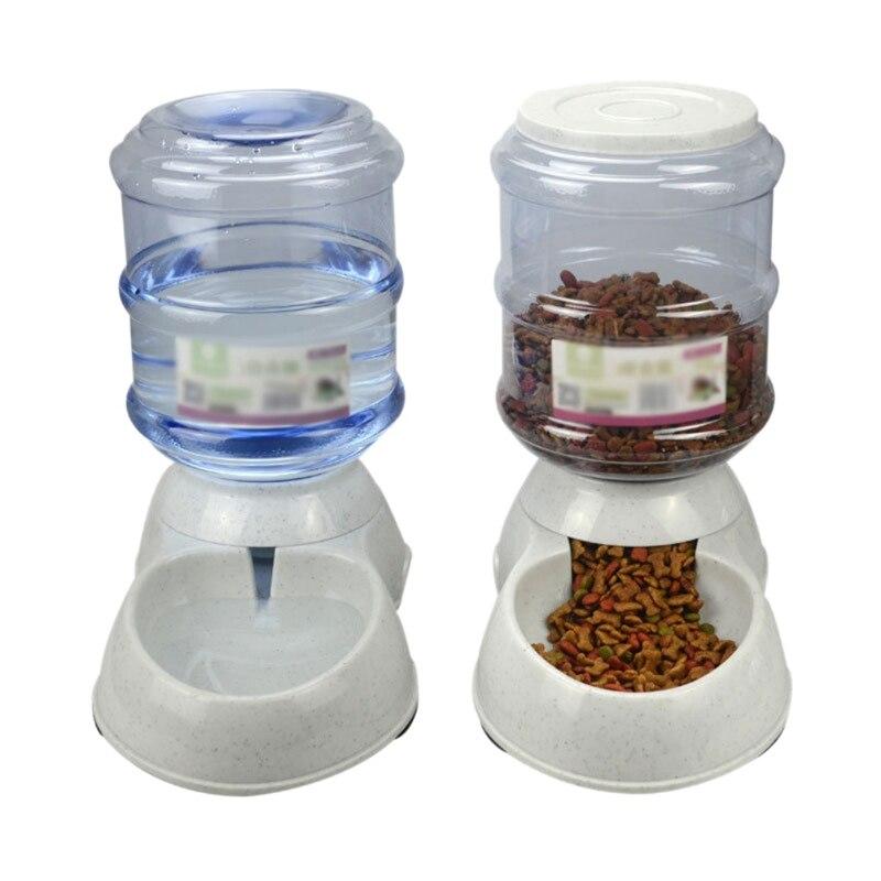 Comederos automáticos para perros de 3.5L cuencos para gatos comederos para perros bebederos de agua cuencos para gatos dispensadores de agua
