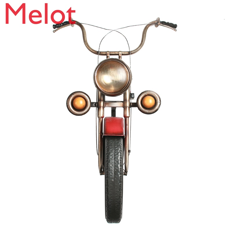 Industry Wind Motorcycle Metope Wall Decorate Pendant Iron Art Restaurant Originality Bar Wall Three-dimensional Wall Hanging