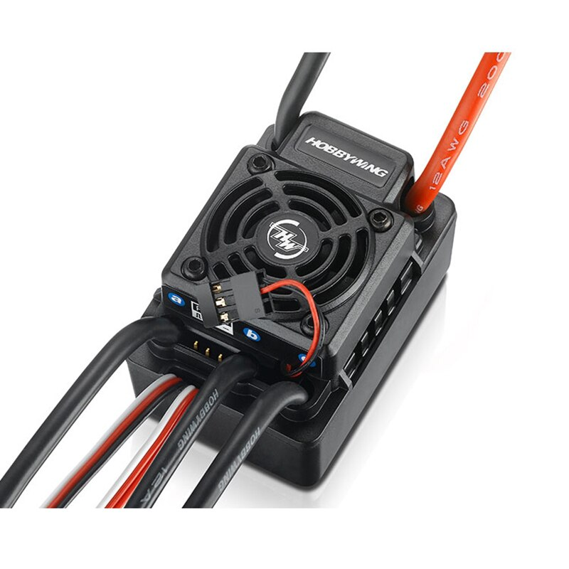 Hobbywing EZRUN WP SC8 120A box Waterproof Brushless ESC Speed Controller 2-4S For 1/10 1/8 RC Car enlarge