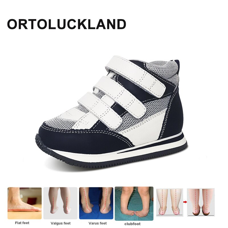 Kids Sneakers Boys Training Orthopedic Running Shoes For Children Toddlers Rubber Boots Girls Red Rigid Clubfoot Casual Footwear boots tiflani 10924830 baby shoes footwear of boys and girls for kids