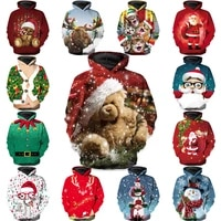 christmas oversized hoodies for teens 2020 winter boys hoodies and sweatshirts for girls clothes children clothing 5 14 years