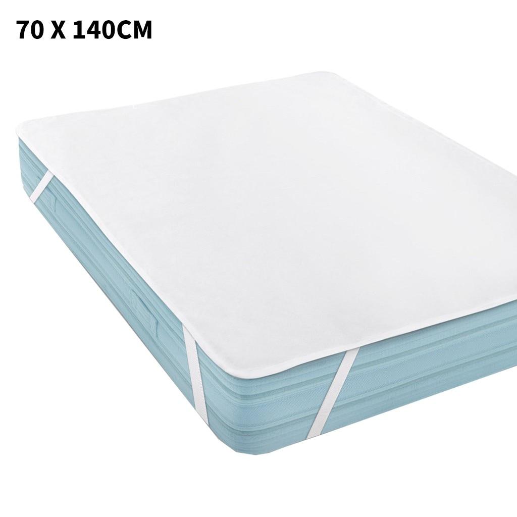 Combinación suave Funda de colchón impermeable más un par de almohadones Protector antiácaros funda de almohada 70x140 cm