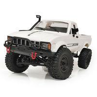 WPL C-24-1K 1/16 комплект 4WD 2,4G 2CH военный грузовик гусеничный внедорожный Радиоуправляемый игрушечный набор