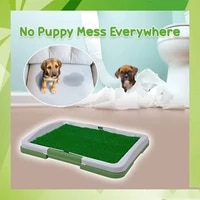 artificial grass bathroom mat for puppies and small pets portable potty