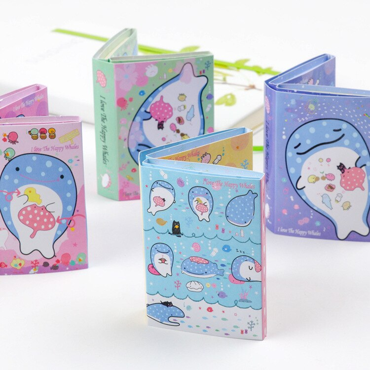 Papelería Kawaii, Bloc de notas de Cuerpo Marino, papel adhesivo, libro diario, lindas cosas, suministros escolares, papelería, decoración de oficina